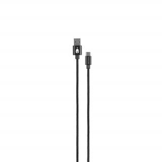 Spartan Gear USB Type C kábel 2m (Fekete)