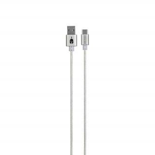 Spartan Gear USB Type C kábel 2m (Fehér)