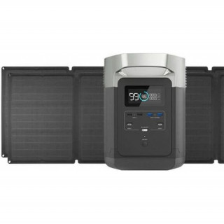 ECOFLOW DELTA + Dupla Solar Panel Kit