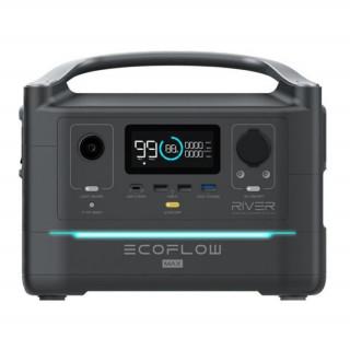 ECOFLOW RIVER MAX hordozható elektromos generátor