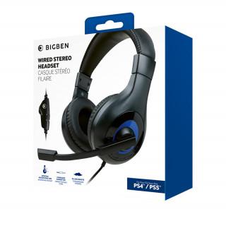 Nacon Stereo Gaming Fejhallgató PS5 (Fekete)