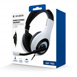 Nacon Stereo Gaming Fejhallgató PS5 (Fehér)