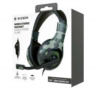 Nacon Multi Stereo Gaming Fejhallgató  (Terepmintás)