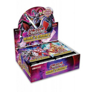 Yu-Gi-Oh! Kings Court Booster Display