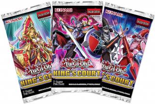 Yu-Gi-Oh! Kings Court Booster Pack (1db)