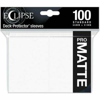 Eclipse Arctic White Matte Deck Protector 100db kártyavédő