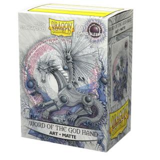 Dragon Shield Classic Matte Art Word of the God Hand 100db Kártyavédő