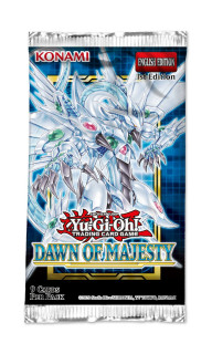 Yu-Gi-Oh! Dawn of Majesty Booster Pack
