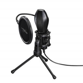 Hama Gaming Mikrofon URAGE XSTR3AM EVOLUTION (asztali állvánnyal) 186018 (Bontott)