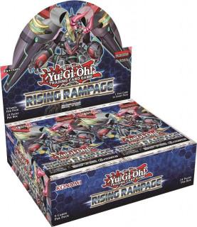 Yu-Gi-Oh! Rising Rampage Booster Display