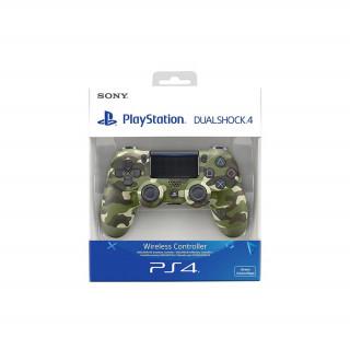 Playstation 4 (PS4) Dualshock 4 Controller (Camo Green) (Bontott)