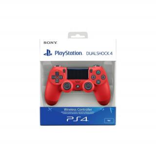 Playstation 4 (PS4) Dualshock 4 Controller (Red) (2016) (Bontott)