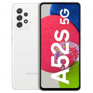 Samsung Galaxy A52s 5G 128GB 6GB RAM Dual mobiltelefon (Fehér)
