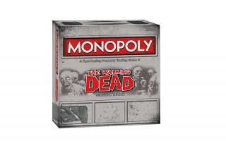 Monopoly Walking Dead Edition (Angol nyelvű) AJÁNDÉKTÁRGY