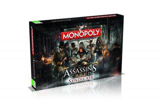Monopoly Assassin's Creed Syndicate Edition (Angol nyelvű) AJÁNDÉKTÁRGY