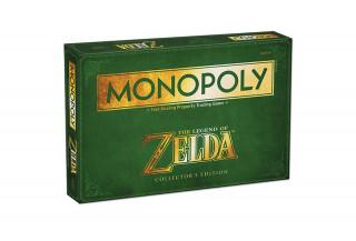 Monopoly Zelda Edition (Angol nyelvű) AJÁNDÉKTÁRGY