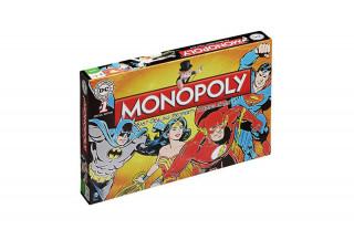 Monopoly DC Original (Angol nyelvű) AJÁNDÉKTÁRGY