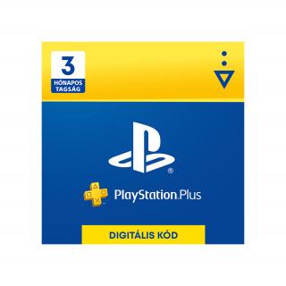 PlayStation Plus kártya 3 hónapos (PSN Plus) (DIGITÁLIS) (Letölthető)