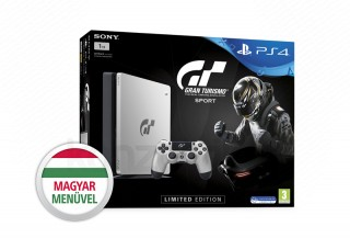 PlayStation 4 (PS4) Slim 1TB (Limitált kiadás) + Gran Turismo Sport PS4