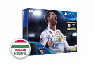 Playstation 4 (PS4) Slim 1TB + FIFA 18 + ajándék God of War (2018) PS4