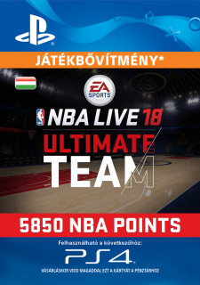 EA SPORTS™ NBA LIVE 18 ULTIMATE TEAM™ - 5850 NBA POINTS - ESD HUN (Letölthető) PS4
