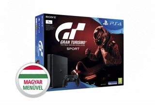 PlayStation 4 (PS4) Slim 1TB + Gran Turismo Sport PS4