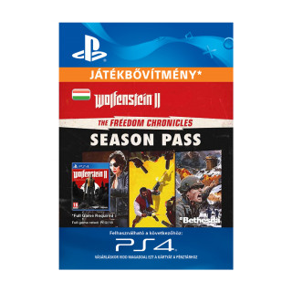 Wolfenstein® II: The Freedom Chronicles Season Pass - ESD HUN (Letölthető) PS4