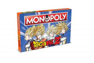 Monopoly Dragon Ball Z Edition (Angol nyelvű) AJÁNDÉKTÁRGY