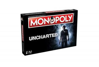 Monopoly Uncharted Edition (Angol nyelvű) AJÁNDÉKTÁRGY