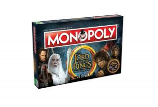 Monopoly Lord of the Rings Edition (Angol nyelvű) AJÁNDÉKTÁRGY