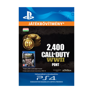2,400 Call of Duty®: WWII Points - ESD HUN (Letölthető) PS4