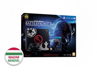 PlayStation 4 Pro 1TB + Star Wars Battlefront II (Limitált kiadás) + ajándék God of War PS4