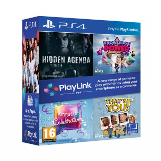 PlayLink Four Game Multipack PS4