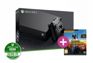 Xbox One X 1TB + PlayerUnknown's Battlegrounds XBOX ONE