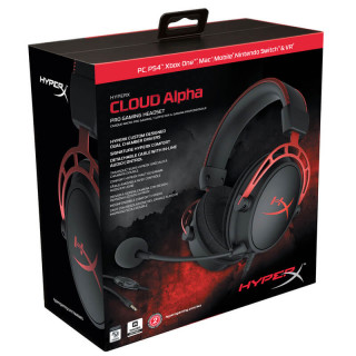 HyperX Cloud Alpha Pro Gaming Headset (HX-HSCA-RD-EM) MULTI