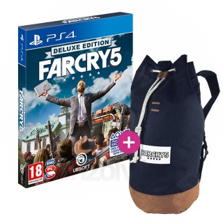 Far Cry 5 Deluxe Edition + Hátizsák PS4