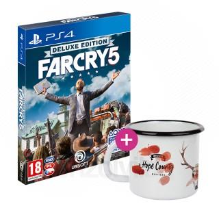 Far Cry 5 Deluxe Edition + Bögre PS4
