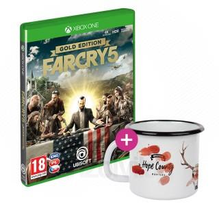 Far Cry 5 Gold Edition + Bögre XBOX ONE