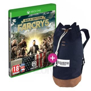 Far Cry 5 Gold Edition + Hátizsák XBOX ONE