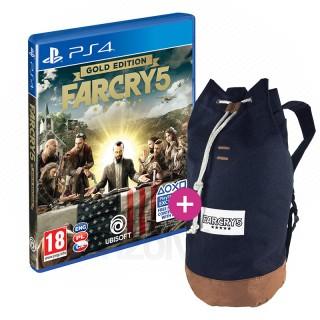Far Cry 5 Gold Edition + Hátizsák PS4