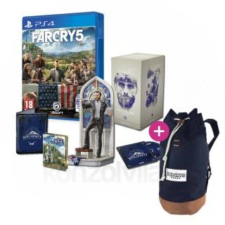 Far Cry 5 The Father Edition + Hátizsák PS4