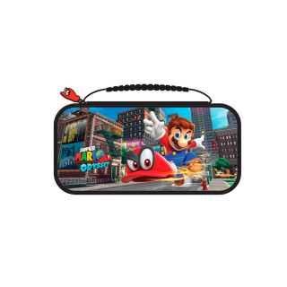 Nintendo Switch Super Mario Odyssey mintás tok (BigBen) Switch