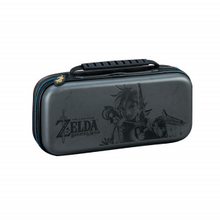 Nintendo Switch Zelda mintás tok (szürke) Switch
