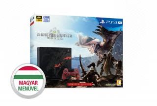 PlayStation 4 Pro (PS4) 1TB + Monster Hunter: World (Limitált kiadás) PS4