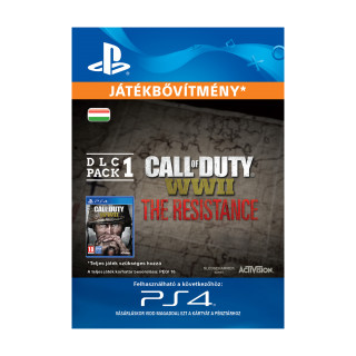 Call of Duty®: WWII - The Resistance: DLC Pack 1 (30.1.2018) - ESD HUN (Letölthető) PS4