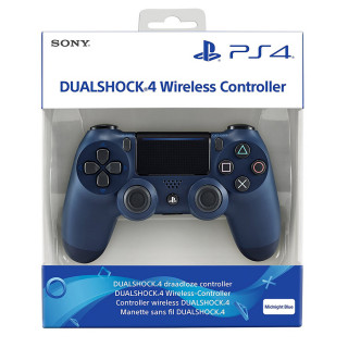 PlayStation 4 (PS4) Dualshock 4 Kontroller (Midnight Blue)
