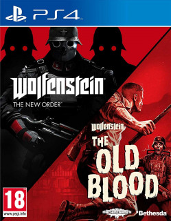 Wolfenstein: The Two-Pack (használt) PS4