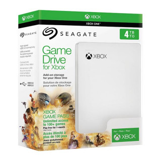 Seagate Game Drive for Xbox 4TB Fehér (STEA4000407) XBOX ONE