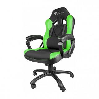 Natec Genesis SX33 gamer szék, fekete-zöld (NFG-0906) PC