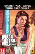 Grand Theft Auto V + Criminal Enterprise Starter Pack + Whale Shark Card (PC) Letölthető PC